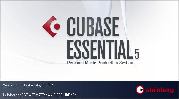 Blocage de Cubase Essential au lancement